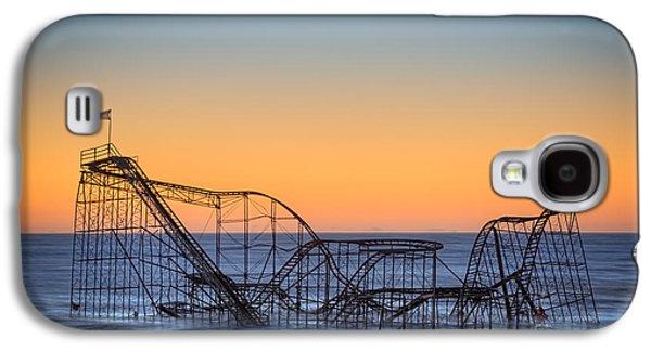 Star Jet Roller Coaster Ride  Galaxy S4 Case by Michael Ver Sprill