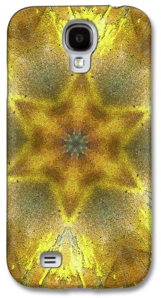 Star Kaleidoscope Galaxy S4 Case by Wim Lanclus