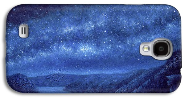 Best Sellers -  - Constellations Paintings Galaxy S4 Cases - Star Path Galaxy S4 Case by Lucy West