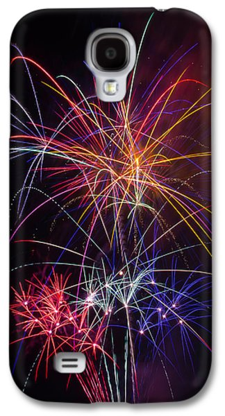 Star Spangled Fireworks Galaxy S4 Case by Garry Gay