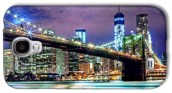 Star Spangled Skyline Galaxy S4 Case by Az Jackson