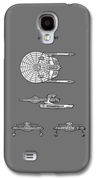 Star Trek - Uss Reliant Patent Galaxy S4 Case by Mark Rogan