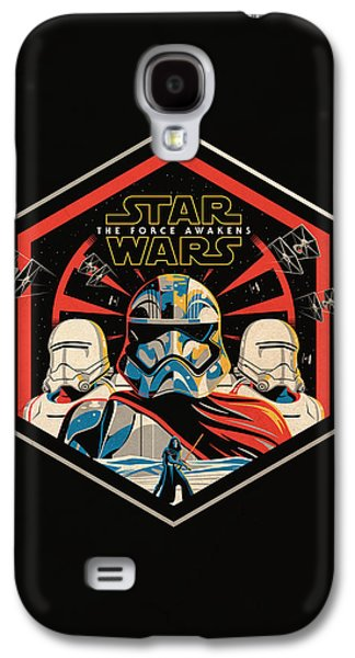 Star Wars - The Force Awakens Galaxy S4 Case by Fht