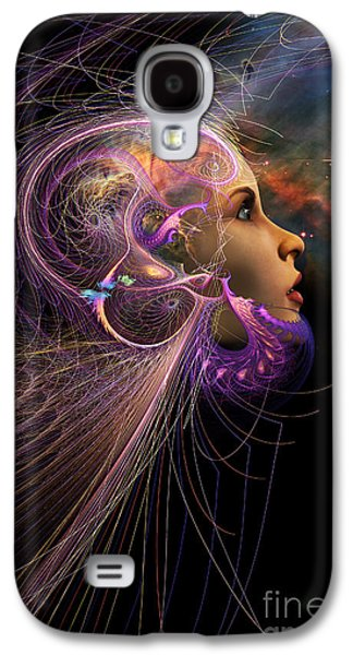Recently Sold -  - Abstract Digital Digital Galaxy S4 Cases - Starborn Galaxy S4 Case by John Edwards