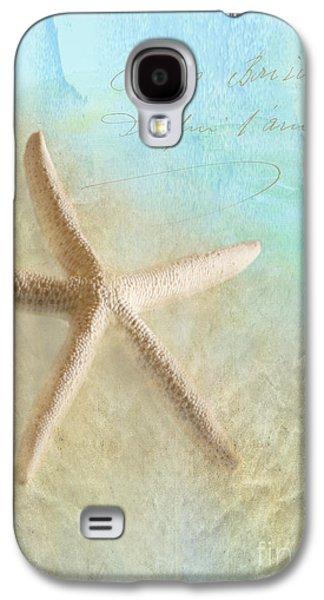 Seashell Digital Art Galaxy S4 Cases - Starfish Galaxy S4 Case by Betty LaRue