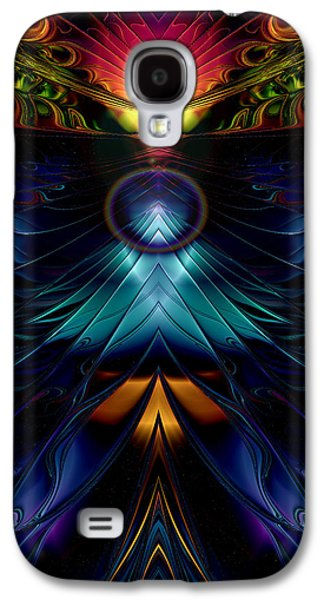 Stargate Symmetrical Abstract Galaxy S4 Case by Sharon and Renee Lozen