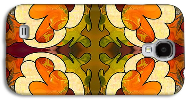 Staring Into The Abyss Abstract Art By Omashte Galaxy S4 Case by Omaste Witkowski