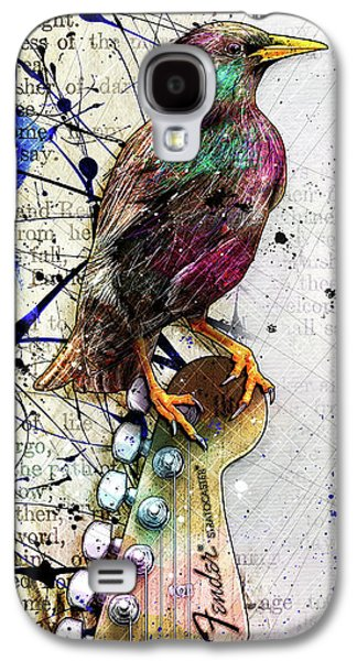Starling On A Strat Galaxy S4 Case by Gary Bodnar