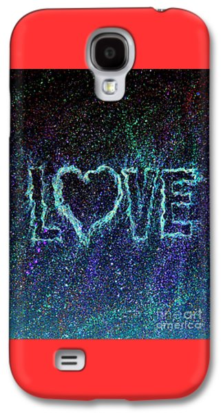Puppy Digital Galaxy S4 Cases - Starry Eyed Love Galaxy S4 Case by Bill Holkham