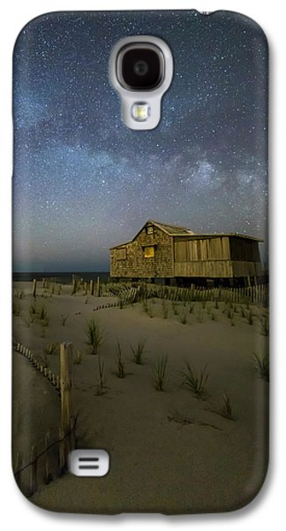 Starry Skies And Milky Way At Nj Shore Galaxy S4 Case by Susan Candelario
