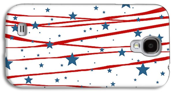 Stars And Stripes Galaxy S4 Case by Marianna Mills