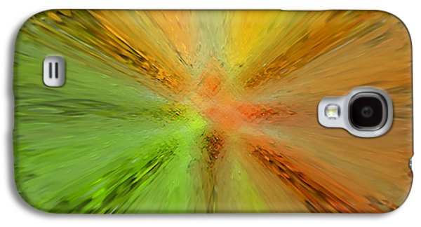 Abstract Digital Art Galaxy S4 Cases - Starting Point Galaxy S4 Case by Kathy Franklin