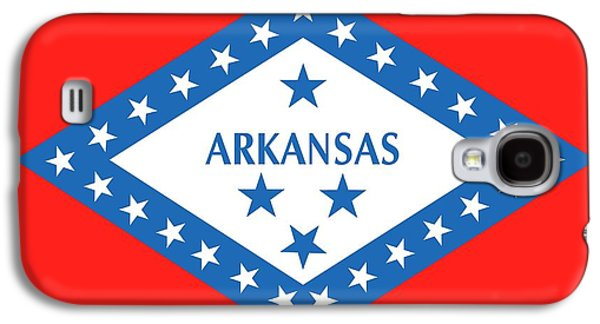 State Flag Of Arkansas Galaxy S4 Case by American School