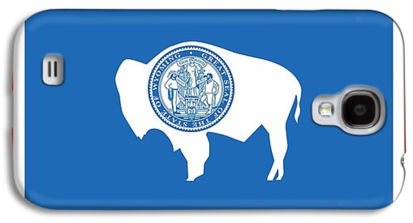 State Flag Of Wyoming Galaxy S4 Case by American School