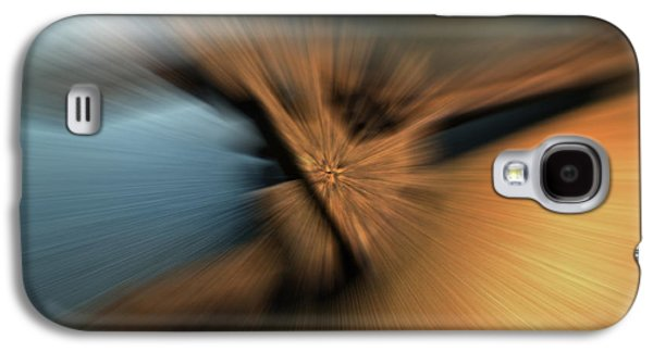 Abstract Movement Galaxy S4 Cases - Static Movement Galaxy S4 Case by Marshall Barth
