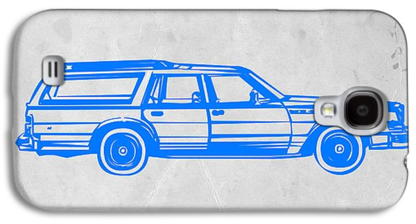 Station Wagon Galaxy S4 Case by Naxart Studio