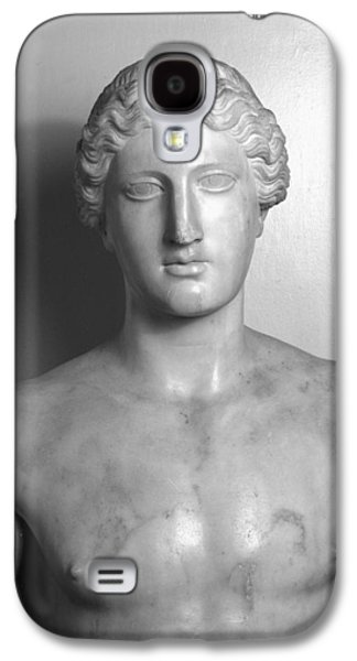 Black Sculptures Galaxy S4 Cases - Statue of Apollo Galaxy S4 Case by Roman School