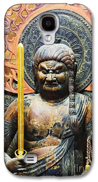 Ancient Galaxy S4 Cases - Statue of Fudo Myo-o Galaxy S4 Case by Jeremy Woodhouse