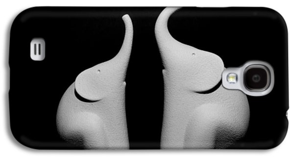 Interior Still Life Tapestries - Textiles Galaxy S4 Cases - Statues of elephants Galaxy S4 Case by Marco Amenta