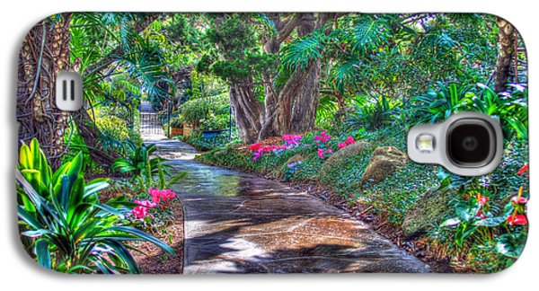 Garden Photographs Galaxy S4 Cases - Stay on your path Galaxy S4 Case by TC Morgan