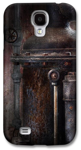 Mechanism Galaxy S4 Cases - Steampunk - Handling Pressure  Galaxy S4 Case by Mike Savad