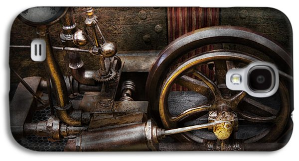Mechanism Galaxy S4 Cases - Steampunk - The Contraption Galaxy S4 Case by Mike Savad