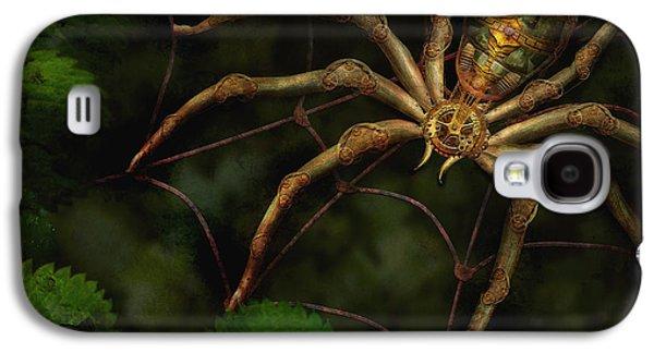 Steampunk - Galaxy S4 Cases - Steampunk - Spider - Arachnia Automata Galaxy S4 Case by Mike Savad