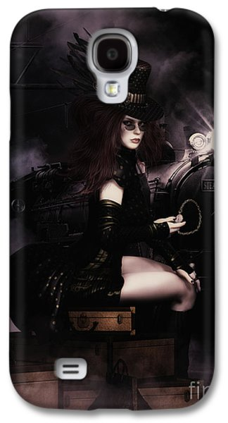 Steampunkxpress Galaxy S4 Case by Shanina Conway