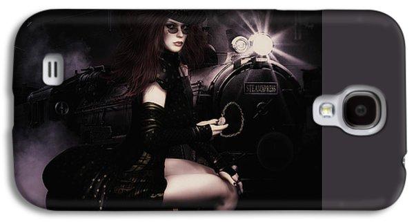 Mechanism Digital Art Galaxy S4 Cases - SteampunkXpress Galaxy S4 Case by Shanina Conway