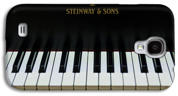 Piano Photographs Galaxy S4 Cases - Steinway Grand Two Galaxy S4 Case by Sam Hymas