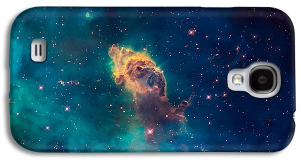 Recently Sold -  - Jet Star Galaxy S4 Cases - Stellar Jet in the Carina Nebula Galaxy S4 Case by Space Art Pictures