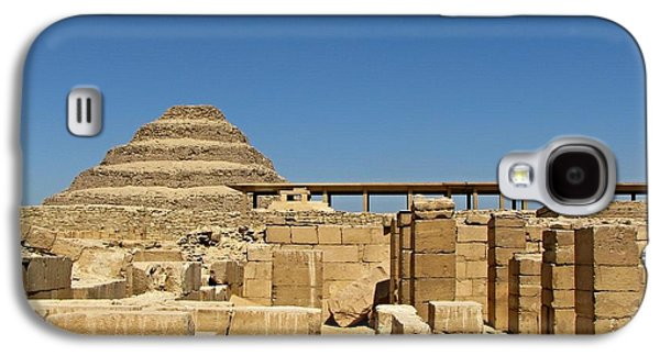 Ancient Galaxy S4 Cases - Step Pyramid Saqqara Galaxy S4 Case by Patricia Russell