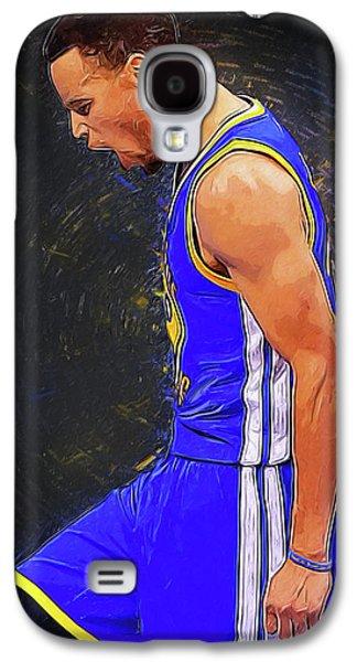 Steph Curry Galaxy S4 Case by Semih Yurdabak