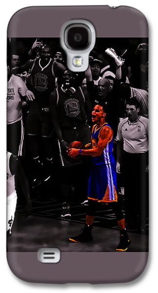 Stephen Curry Sweet Victory Galaxy S4 Case by Brian Reaves