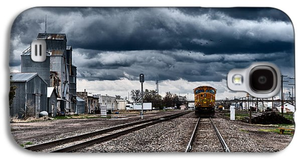 Storm Prints Photographs Galaxy S4 Cases - Sterling Colorado Storms Galaxy S4 Case by Darren  White