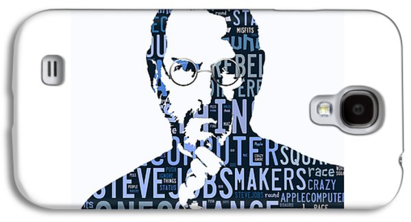 Steve Jobs Here's To The Crazy One's Speach Galaxy S4 Case by Marvin Blaine