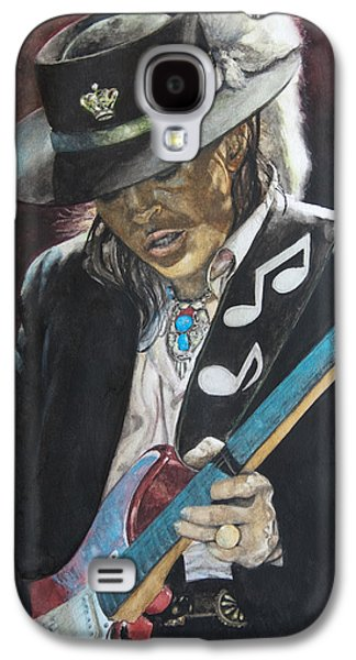 Shows Galaxy S4 Cases - Stevie Ray Vaughan  Galaxy S4 Case by Lance Gebhardt