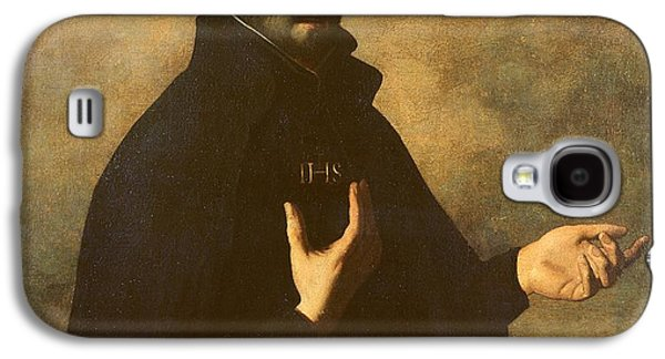 Religious Galaxy S4 Cases - St.Ignatius Loyola Galaxy S4 Case by Francisco de Zurbaran