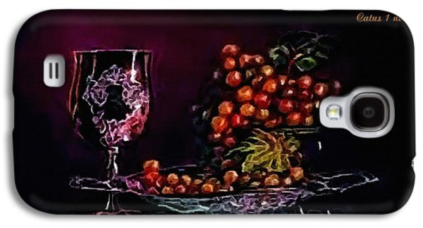 Abstract Landscape Galaxy S4 Cases - Still-Life creations Catus 1 no. 6 H A Galaxy S4 Case by Gert J Rheeders