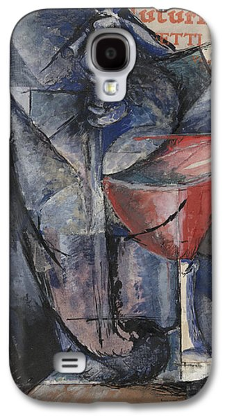 Still Life  Glass And Siphon Galaxy S4 Case by Umberto Boccioni