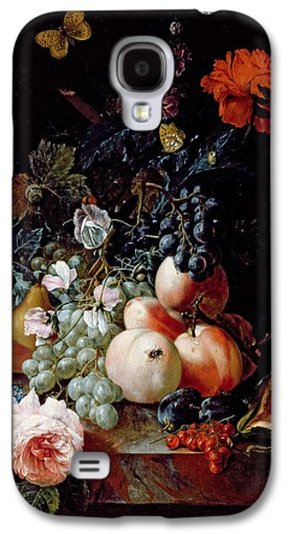Peaches Galaxy S4 Cases - Still Life  Galaxy S4 Case by Johann Amandus Winck
