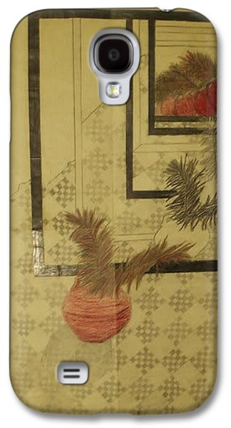 Etc. Drawings Galaxy S4 Cases - Still Life Galaxy S4 Case by William Douglas