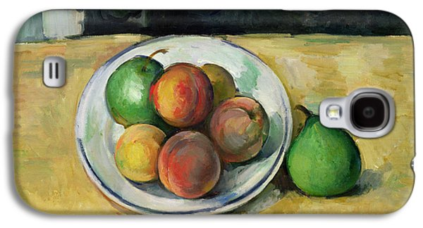 Still Life With A Peach And Two Green Pears Galaxy S4 Case by Paul Cezanne