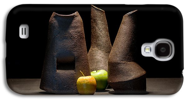 Still Life Ceramics Galaxy S4 Cases - Still Life with Apples Galaxy S4 Case by William Sulit