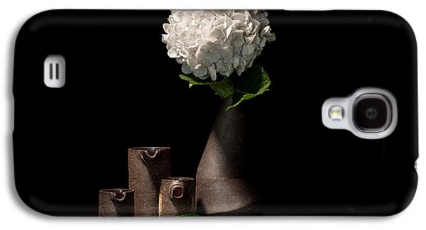 Still Life Ceramics Galaxy S4 Cases - Still Life with Flower Galaxy S4 Case by William Sulit