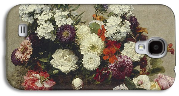 Still Life With Flowers Galaxy S4 Case by Ignace Fantin-Latour