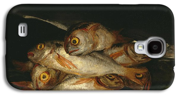 Still Life With Golden Bream Galaxy S4 Case by Francisco Goya