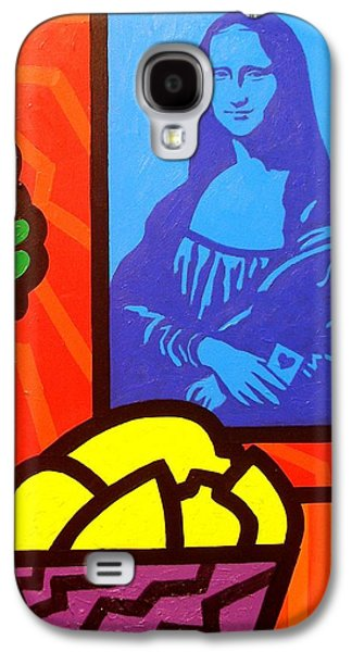 Still Life With Matisse And Mona Lisa Galaxy S4 Case by John  Nolan