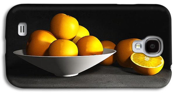 Tangerines Galaxy S4 Cases - Still Life with Oranges Galaxy S4 Case by Cynthia Decker