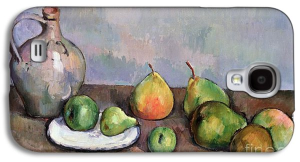 Still Life With Pitcher And Fruit Galaxy S4 Case by Paul Cezanne